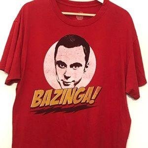 Big Bang Theory Graphic Short Sleeve Men's Tee